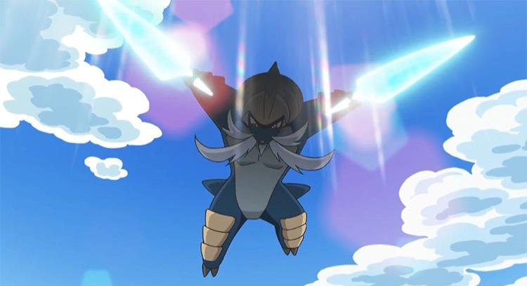 Samurott from Pokemon anime