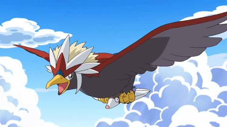 Braviary Pokemon in the anime