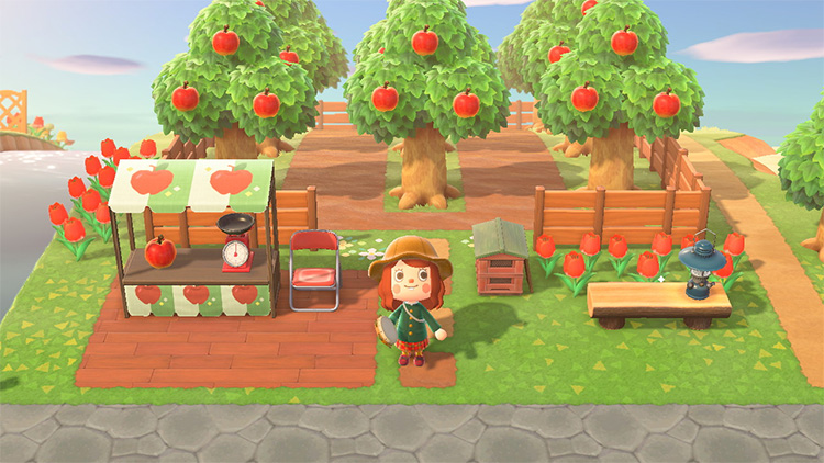 Apple Orchard Store - Custom AC New Horizons Design