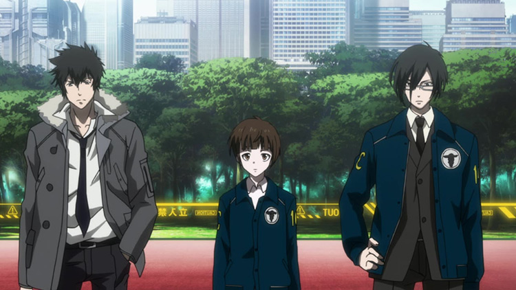 Psycho Pass anime screenshot