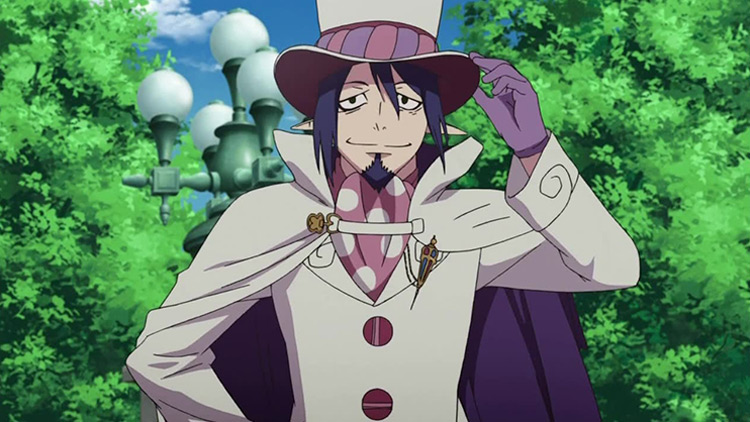 Mephisto Pheles from Blue Exorcist anime