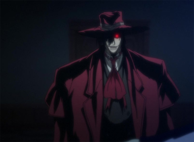 Alucard in Hellsing Ultimate
