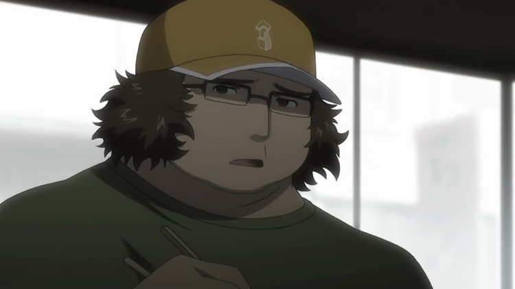 Itaru Hashida in Steins;Gate anime