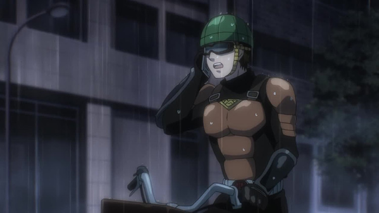 Mumen Rider One Punch Man anime screenshot