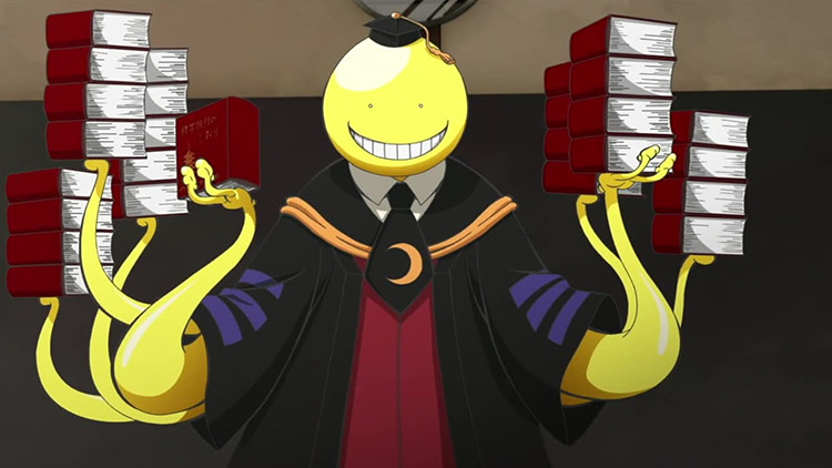Koro-Sensei in Assassination Classroom