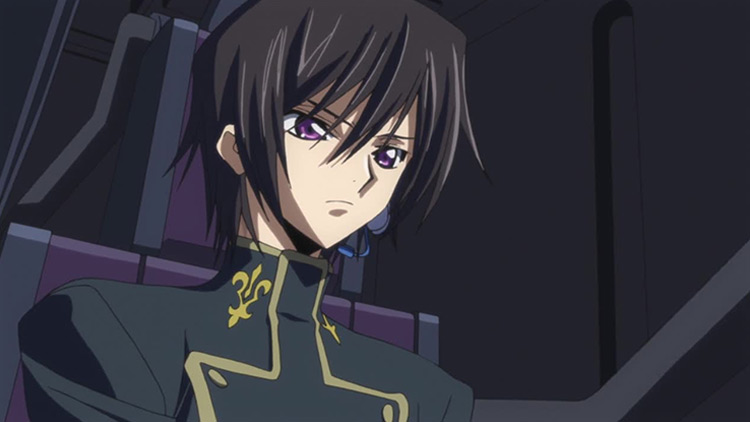 Lelouch Lamperouge in Code Geass anime