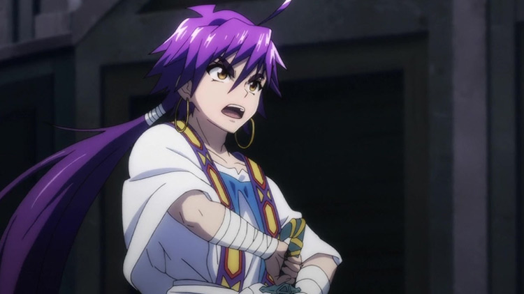 Sinbad from Magi: Adventure of Sinbad anime