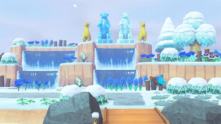 Icy Wonderland Entrance for ACNH