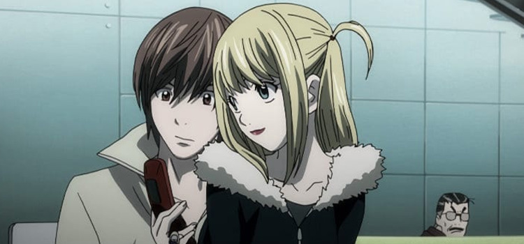 Death Note Screenshot - Misa and Light