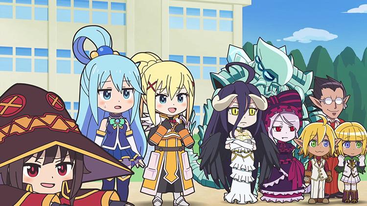 Isekai Quartet anime screenshot