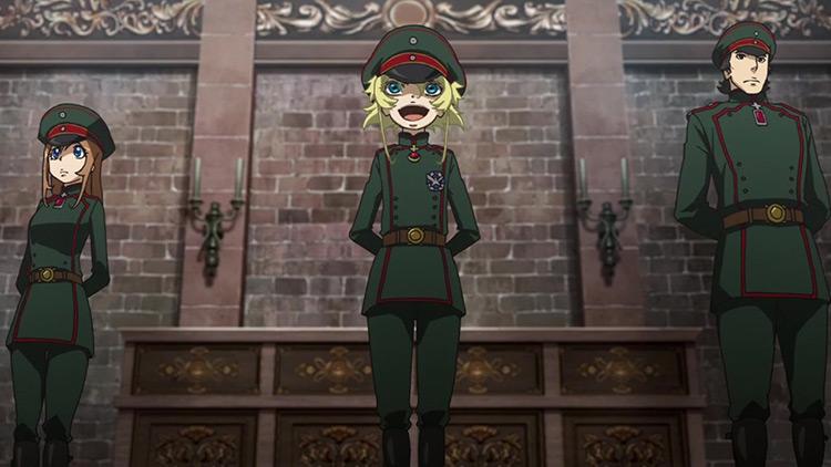 The Saga of Tanya the Evil anime