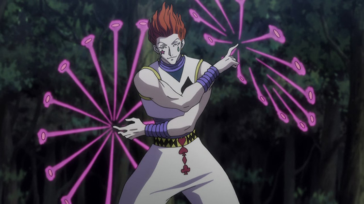 Hisoka Morow in Hunter x Hunter anime