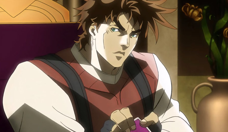 Joseph Joestar from JoJo's Bizarre Adventure: Battle Tendency