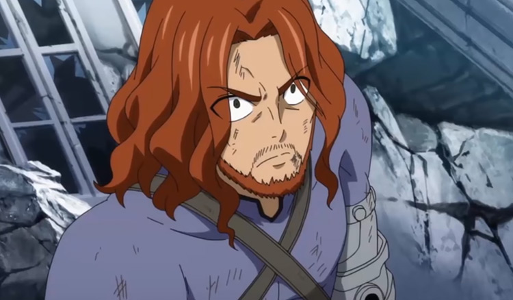 Gildarts Clive from Fairy Tail anime
