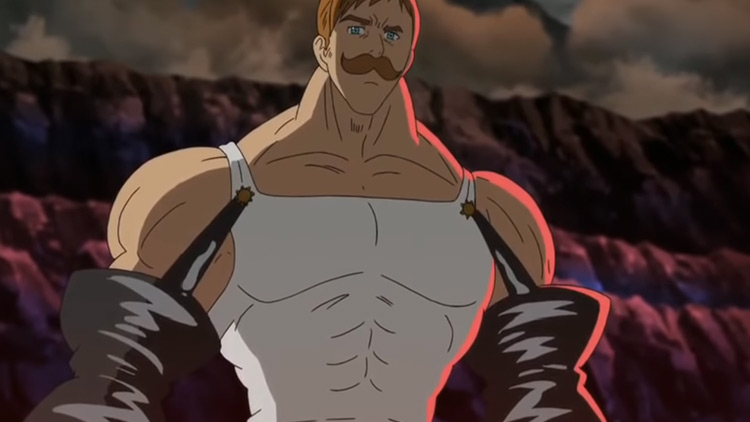 Escanor from The Seven Deadly Sins anime