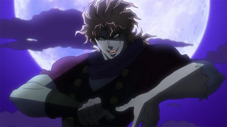 Dio Brando in JoJo's Bizarre Adventure anime