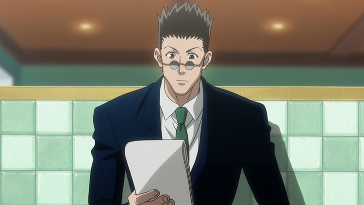 Leorio Paradinight from Hunter x Hunter anime