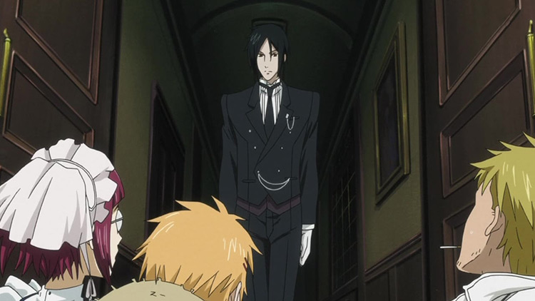 Sebastian Michaelis from Black Butler anime