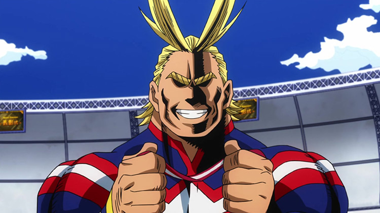 All Might from My Hero Academia anime