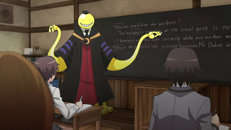 Koro-Sensei from Assassination Classroom