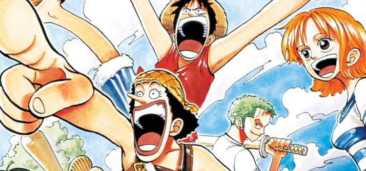 One Piece Manga Vol. 5 Cover