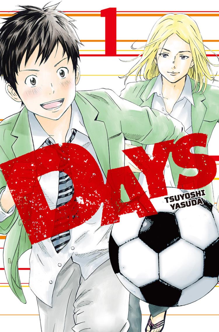 Days manga cover
