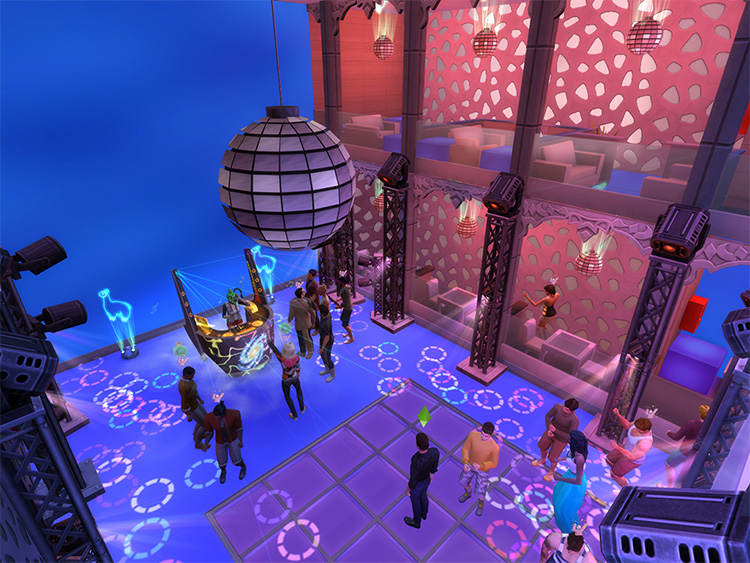 Mirrorball Discoteque Style - New Years Party CC
