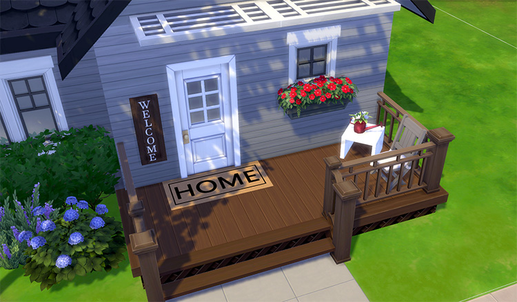 Outdoor Set #1 CC for TS4