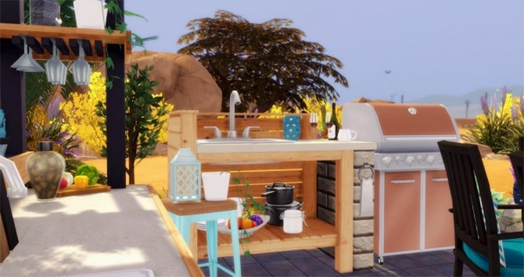 Barbecue Time CC Set at Pyszny Design - Sims 4