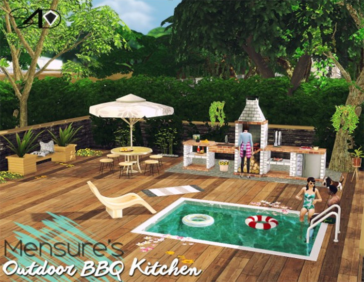 Mensure BBQ Outdoor CC Set - TS4