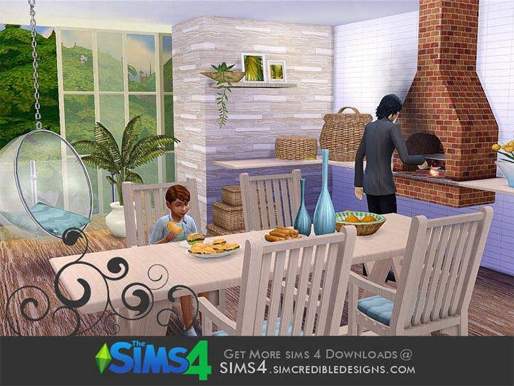 Terrace Barbecue CC set for TS4
