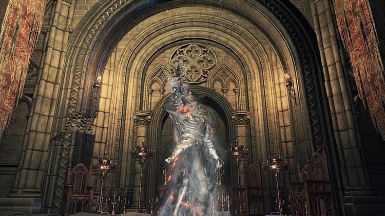Saint-Tree Bellvine from Dark Souls 3