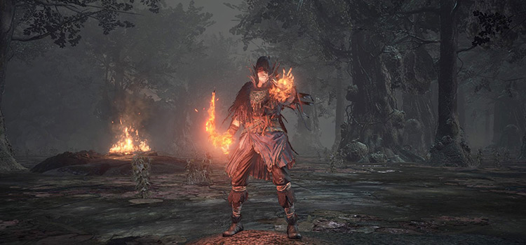 DS3 Salaman the Pyromancer HD Gameplay