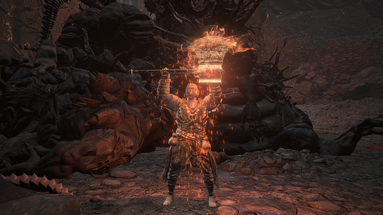 Carthus Flame Arc in DS3