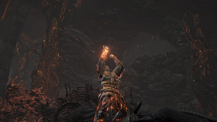 Pyromancer's Parting Flame in DS3