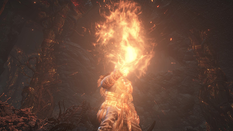 Pyromancy Flame Dark Souls 3