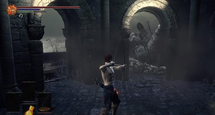 Bow Only Dark Souls 3 screenshot