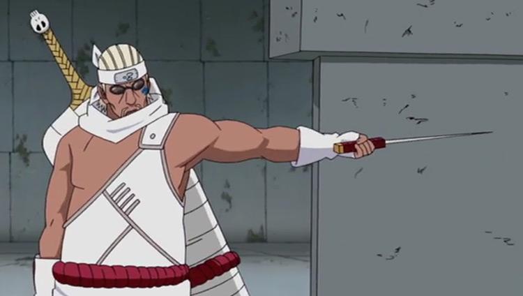 Killer Bee in Naruto: Shippuden anime