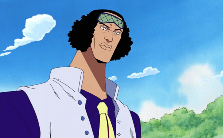 Kuzan from One Piece anime
