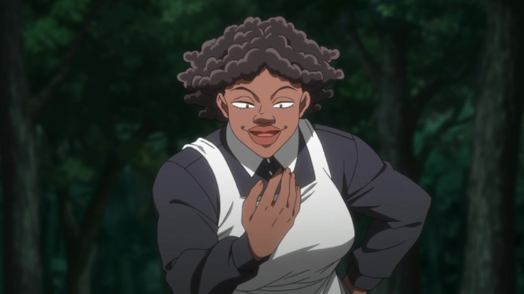 Sister Krone from The Promised Neverland anime