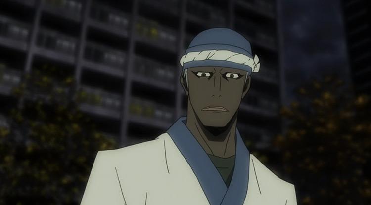 Simon Brezhnev in Durarara anime