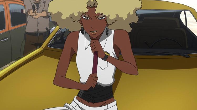Atsuko Jackson from Michiko to Hatchin anime