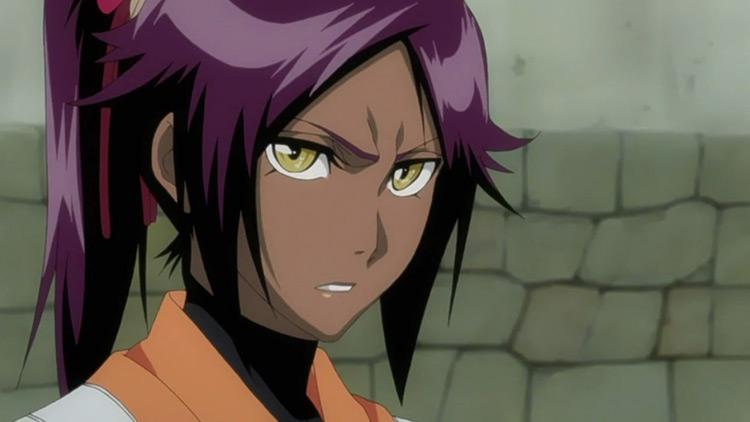 Yoruichi in Bleach anime