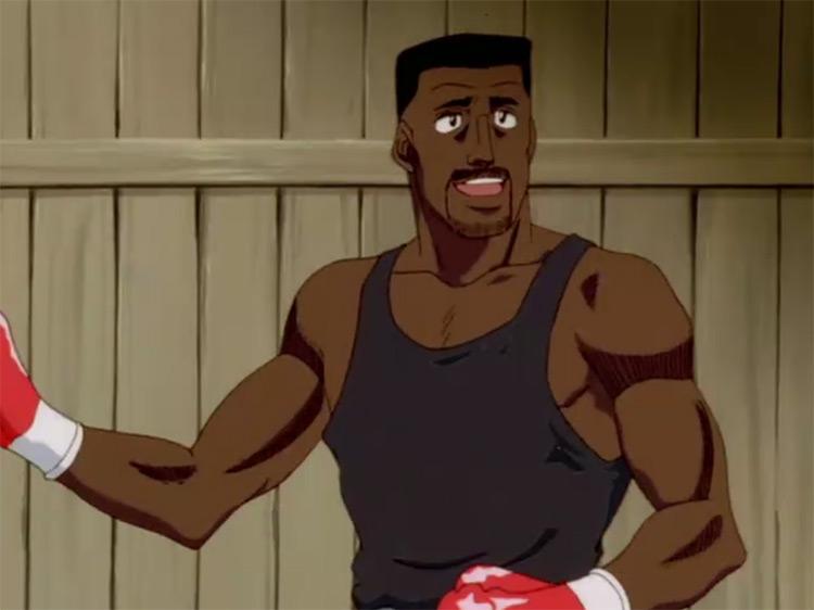 Jason Ozuma Fighting Spirit anime screenshot