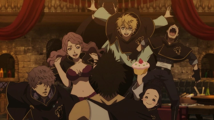 Black Clover anime screenshot