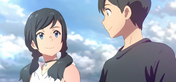 Smiling Characters - Weathering With You Anime