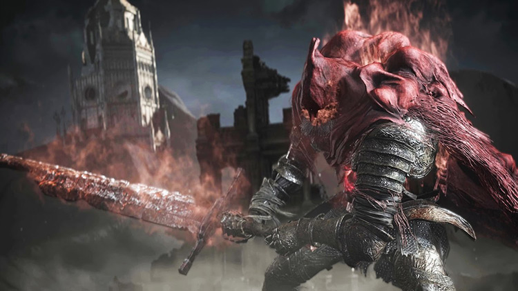 Slave Knight Gael Dark Souls 3 screenshot
