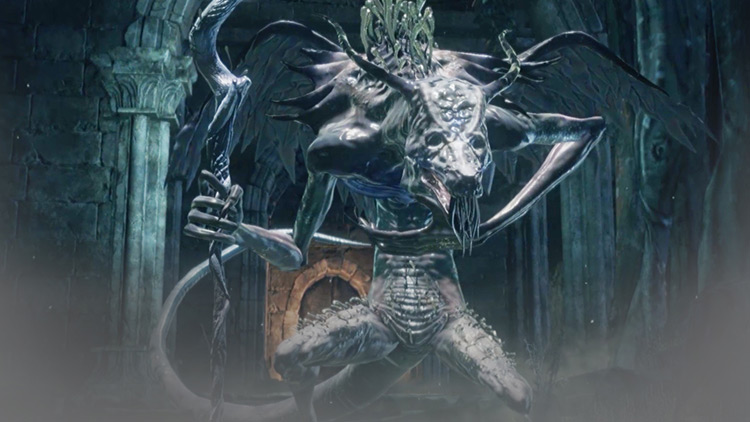 Oceiros, the Consumed King in DS3