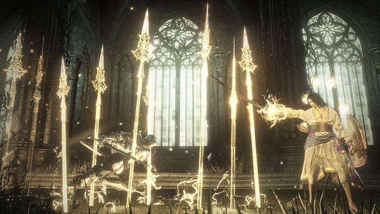 Halflight, Spear of the Church from Dark Souls 3