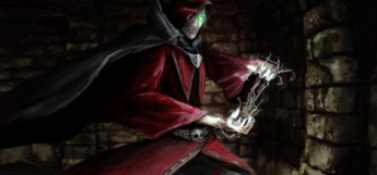 Daedolon artwork character mage
